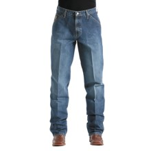 Cinch Blue Label Carpenter Jeans (For Men) in Medium Vintage Stonewash - 2nds