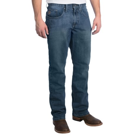 Cinch Dooley Bootcut Jeans - Fitted (For Men) in Dark Stonewash