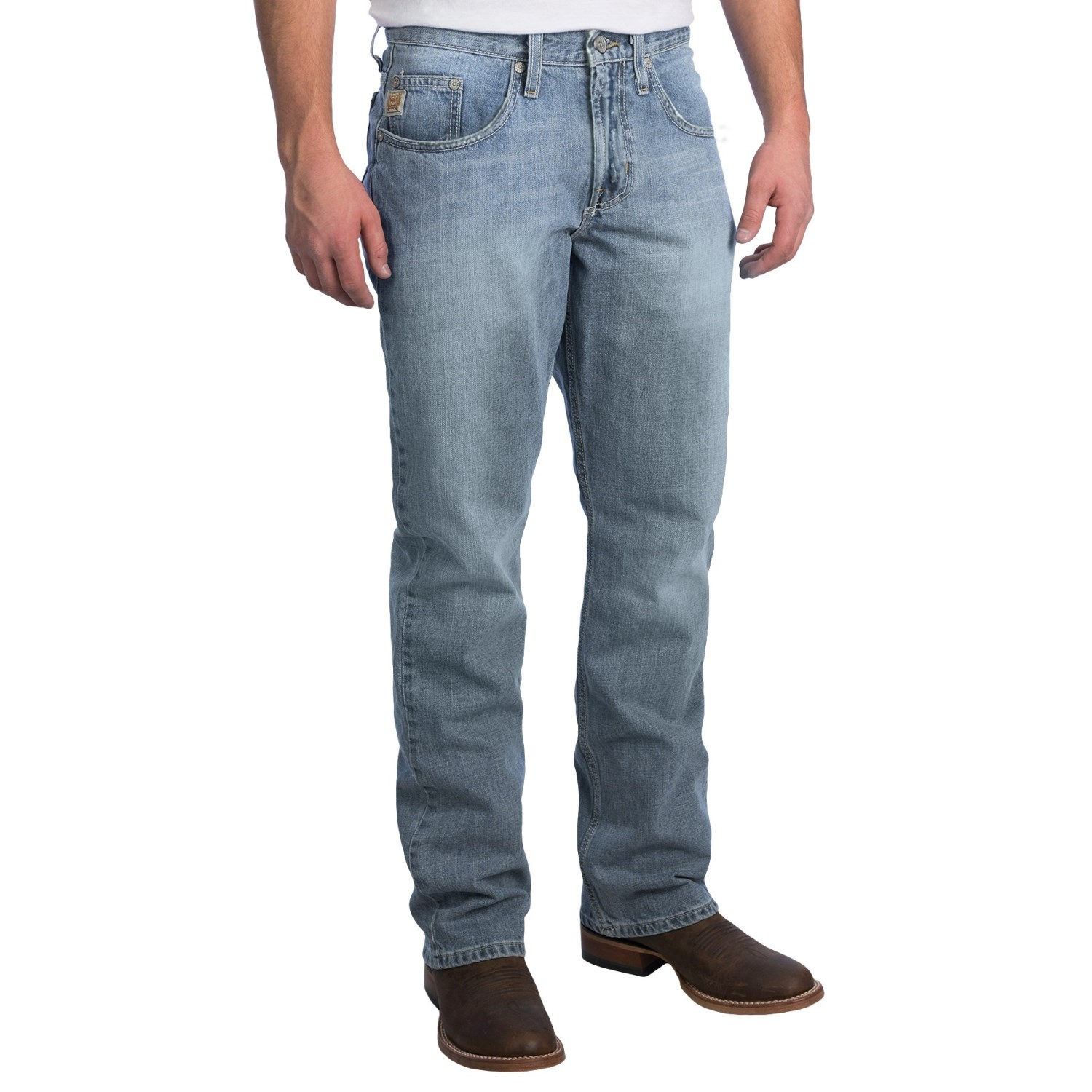 Cinch Dooley Bootcut Jeans Fitted For Men In Light