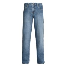 Cinch Fastback Jeans - Straight Leg (For Men) in Medium Stonewash - 2nds