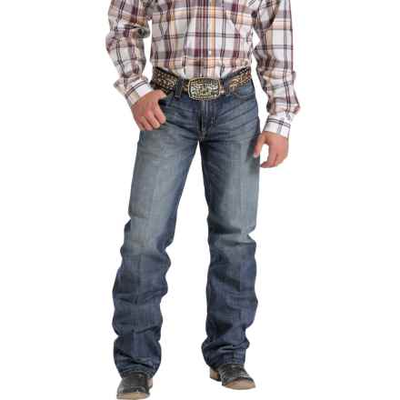 Cinch Grant Relaxed Fit Jeans - Bootcut (For Men) in Medium Stonewash - Closeouts