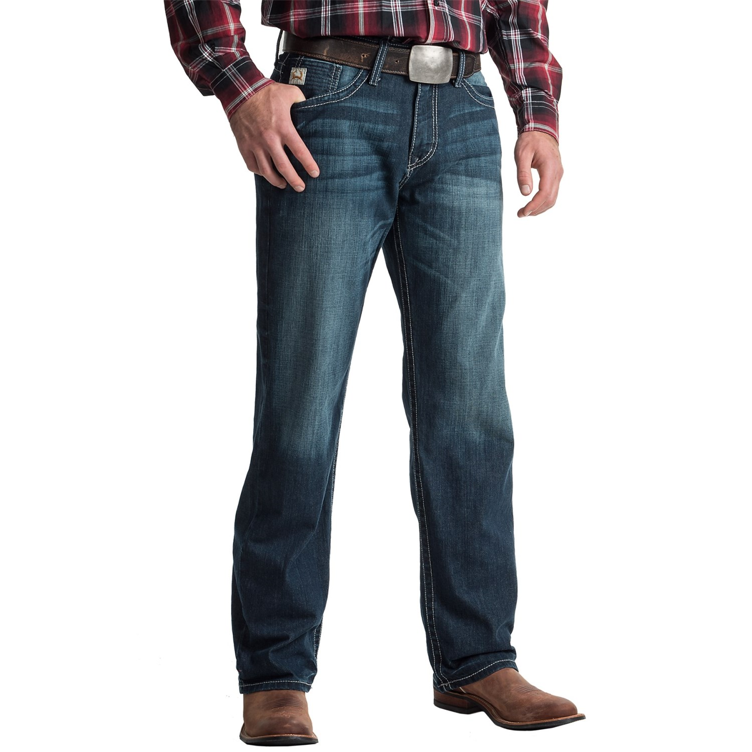 Cinch Grant Relaxed Fit Stretch Jeans (For Men) - Save 50%