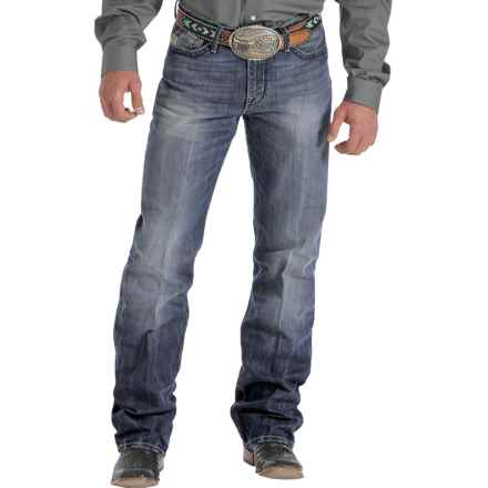 Cinch Grant Stonewash Jeans - Relaxed Fit, Bootcut (For Men) in Dark Stonewash - Closeouts