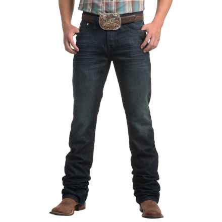 Cinch Ian Dark Stonewashed Sorbtek® Jeans - Slim Fit, Bootcut (For Men) in Indigo - Closeouts