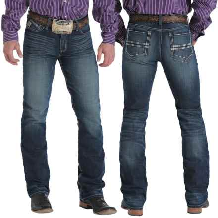 Cinch Ian Jeans - Slim Fit (For Men) in Dark Denim Whisker Sanding - Closeouts