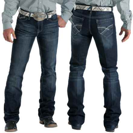 Cinch Ian Jeans - Slim Fit (For Men) in Dark Stonewash Chevrons - Closeouts