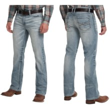 Cinch Ian Mid-Rise Slim Jeans - Bootcut (For Men) in Light Stonewash - 2nds