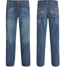 Cinch Ian Mid-Rise Slim Jeans - Bootcut (For Men) in Vintage Blue - 2nds