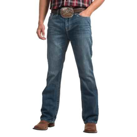 Cinch Ian Starburst Stonewashed Jeans - Slim Fit, Bootcut (For Men) in Indigo - Closeouts