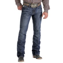 Cinch Ian Stonewash Jeans - Slim Fit, Bootcut (For Men) in Dark Stone - Closeouts