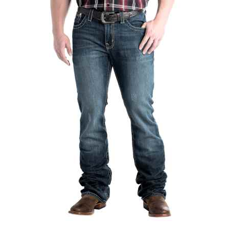 Cinch Ian Stonewashed Jeans - Slim Fit, Bootcut (For Men) in Indigo - Closeouts