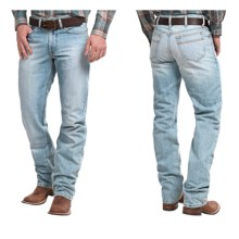 Cinch White Label Jeans - Relaxed Fit (For Men) in Light Stonewash - 2nds