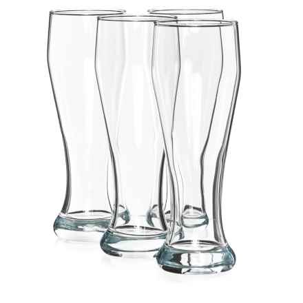 Circleware Long Beach Pilsner Weizen Beer Glasses - 23 fl.oz., Set of 4 in See Photo - Closeouts