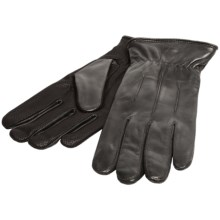 Cire by Grandoe Agent Sheepskin Gloves - Insulated (For Men) in Black - Closeouts