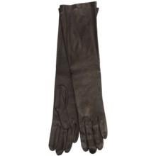 Cire by Grandoe Beauty Sheepskin Gloves - Silk Lining (For Women) in Brown - Closeouts