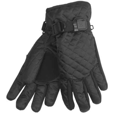 Cire by Grandoe Cuddles Gloves - Insulated in Black - Closeouts
