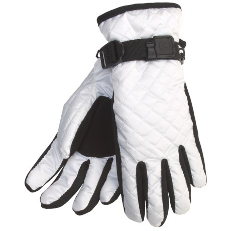 Cire by Grandoe Cuddles Gloves - Insulated in White