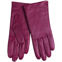 Cire by Grandoe Harmony Touch-Screen Gloves - Sheepskin-Cashmere Lined (For Women) in Raspberry - Closeouts