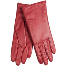 Cire by Grandoe Harmony Touch-Screen Gloves - Sheepskin-Cashmere Lined (For Women) in True Red - Closeouts