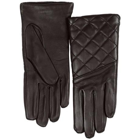 Cire by Grandoe Isadora Gloves - Sheepskin (For Women) in Goldenrod