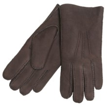 Cire by Grandoe Kodiak Gloves - Leather, Lined (For Men) in Brown/Brown - Closeouts