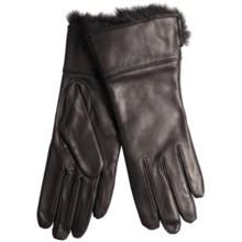 Cire by Grandoe Oralia Sheepskin Gloves - Wool Lining (For Women) in Black/Black - Closeouts