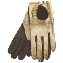 Cire by Grandoe Prelude Sheepskin Gloves (For Women) in Paris/Brown - Closeouts
