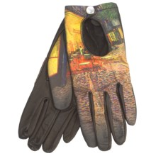Cire by Grandoe Prelude Sheepskin Gloves (For Women) in Terrace At Night - Closeouts