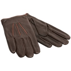 Cire by Grandoe Presto Sheepskin Gloves - Lined (For Men) in Brown/Copper