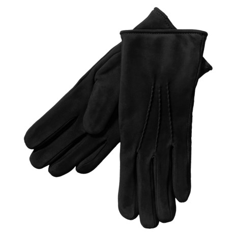 Cire by Grandoe Scenic Gloves - Waterblock Suede (For Women) in Black