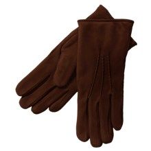 Cire by Grandoe Scenic Gloves - Waterblock Suede (For Women) in Brown - Closeouts