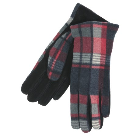 Cire by Grandoe Trek Gloves - Fleece, Waterblock® Palm (For Women) in Black