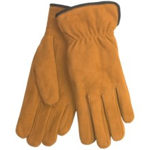 Cire by Grandoe Weekender Gloves - Sheepskin Suede (For Women) in Goldenrod - Closeouts