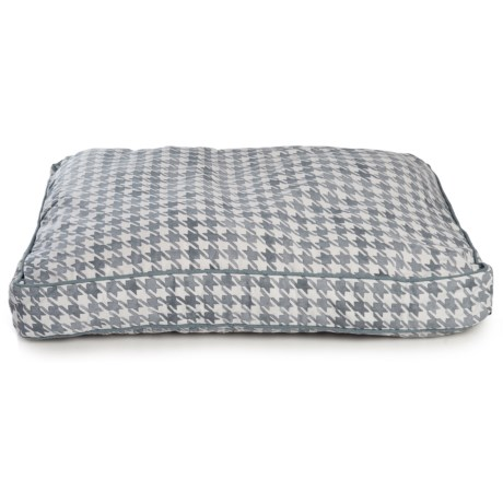 Image of City Houndstooth Rectangle Dog Bed - 27x36?