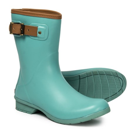 Image of City Solid Rain Boots (For Women)