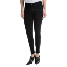 CJ by Cookie Johnson Dream Skinny Jeans - Zip Ankle (For Women) in Black - Closeouts