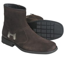 CK Jeans Roger Boots - Suede (For Men) in Dark Brown Suede - Closeouts