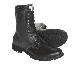 CK Jeans Trent Boots (For Men) in Black/Black