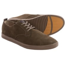 Clae Ellington Leather Lace-Up Shoes (For Men) in Umber Nubuck Umber - Closeouts