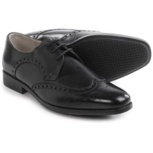Clarks Amieson Limit Oxford Shoes (For Men) in Black Leather - Closeouts