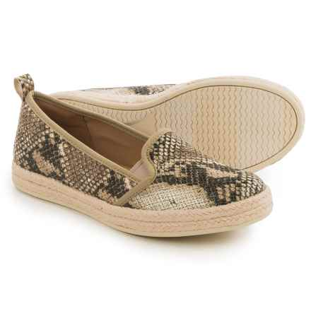 Clarks Azella Major Shoes - Suede, Slip-Ons (For Women) in Beige - Closeouts