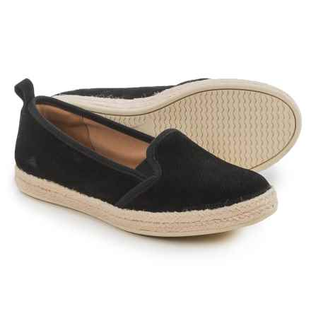 Clarks Azella Major Shoes - Suede, Slip-Ons (For Women) in Black - Closeouts