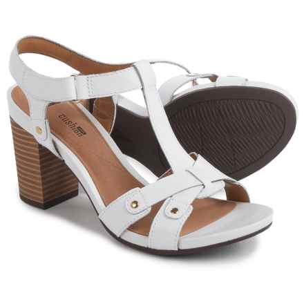 Clarks Banoy Valtina Sandals - Leather (For Women) in White - Closeouts