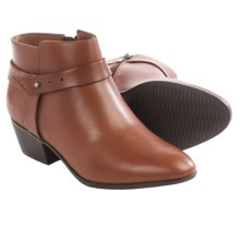 Clarks Boylan Dawn Ankle Boots - Leather (For Women) in Rust - Closeouts