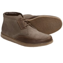 Clarks Brayer Ankle Boots (For Men) in Taupe Suede - Closeouts