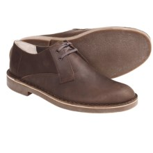 Clarks Bushacre Lo Shoes - Oxfords (For Men) in Dark Brown - Closeouts