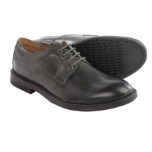 Clarks Bushwick Dale Shoes - Leather (For Men) in Grey Leather - Closeouts