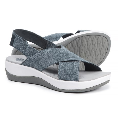 Clarks Cloudsteppers Arla Kaydin Sandals (For Women) in Navy