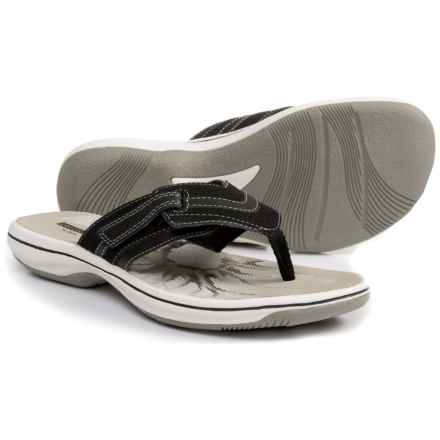 Clarks Cloudsteppers Brinkley Keely Sandals (For Women) in Black - Closeouts