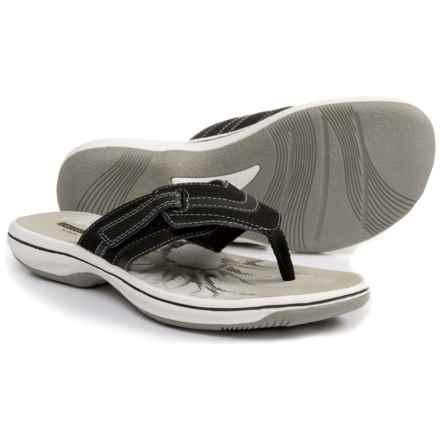 clark womens flip flops